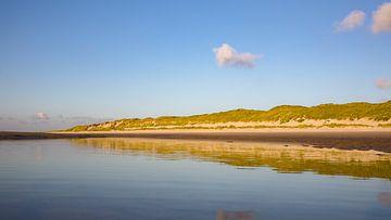 Miroir de plage dune row Vlieland II