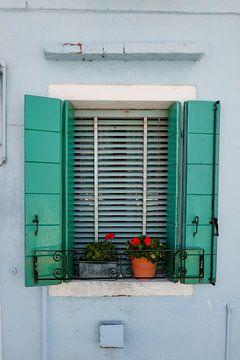 das grüne Fenster von Karin vanBijleveltFotografie