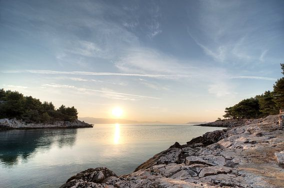 Sunrise at Hvar Island