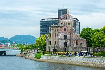 Hiroshima Peace Memorial Park. van Patrick Vercauteren