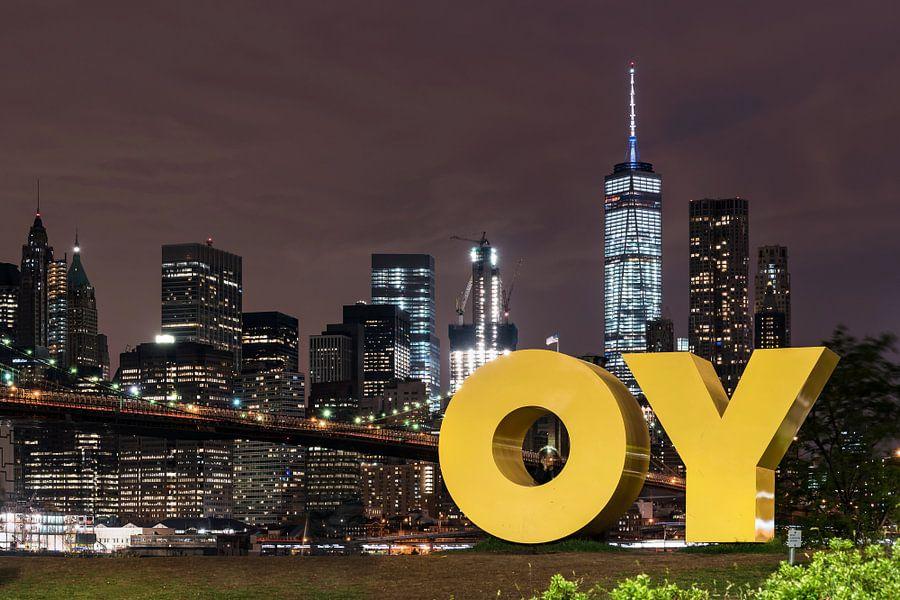 New York im Abendlicht