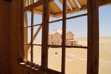 woestijnzicht van Erna Haarsma-Hoogterp