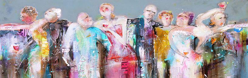 Party people van Atelier Paint-Ing