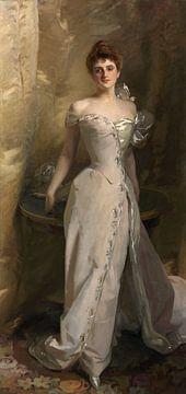 Porträt von Lisa Colt Curtis, John Singer Sargent