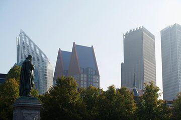 Stadsgezicht Den Haag van Gerrit de Heus