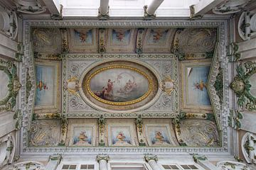 Italiaanse plafond schildering von Mirjam Offeringa