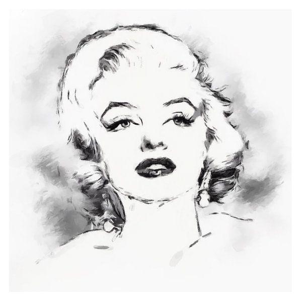 Marilyn Monroe von Yolanda Bruggeman