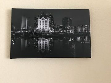 Kundenfoto: Die alte Hafen in Rotterdam von MS Fotografie | Marc van der Stelt