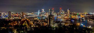 Skyline Rotterdam von Kevin Vervoort