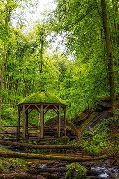 Paviljoen in het bos
