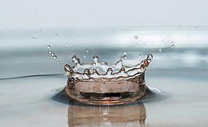 vallende waterdruppel