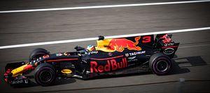 Daniel Ricciardo Spa Francorchamps Red Bull Racing van