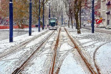 Winter op de Mauritsweg von