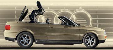 Audi 80 Cabriolet van aRi F. Huber