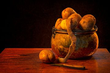 Stilleven: Aardappels van Carola Schellekens