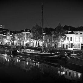 De Brede Haven van Den Bosch - 's-Hertogenbosch bij nacht van Jasper van de Gein Photography