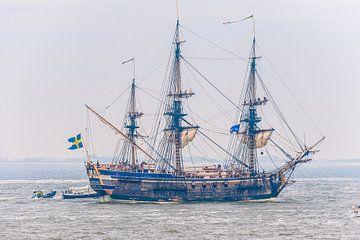Replica Antiek Zeilschip op Sail Den Helder