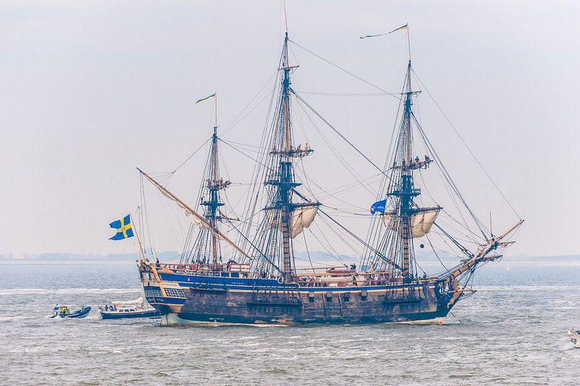 Replica Antiek Zeilschip op Sail Den Helder van Brian Morgan