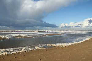 Het strand van Wassenaar/ The beach of Wassenaar van
