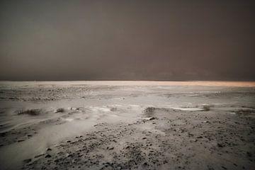 Poolnacht in een sneeuwstorm van Kai Müller