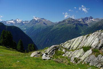 Bergkulisse in Hochötz / Hochoetz, Tirol (Österreich) von Kelly Alblas