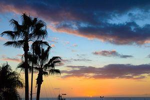Zonsondergang op Gran Canaria van