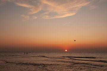 Domburg strand van Nancy van Verseveld