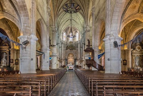 Notre Dame de Bon Port in Les Sables d'Olonne van Don Fonzarelli