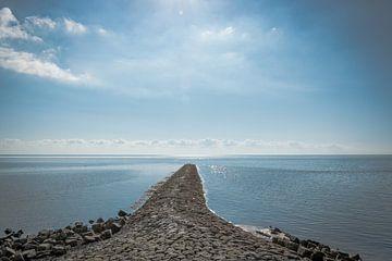 rust op de waddenzee van Arie Jan van Termeij