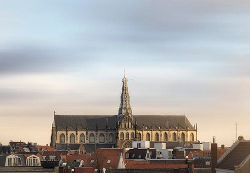 Haarlem: St. Bavo  skyline.