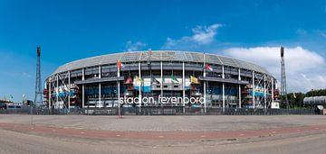 Feyenoord stadion ' de Kuip ' kleur van