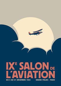 Salon de l'aviation (verbleekt) van Rene Hamann