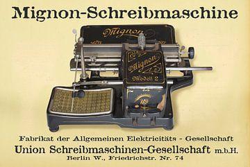 Schreibmaschine Mignon Modell 2 von Ingo Rasch