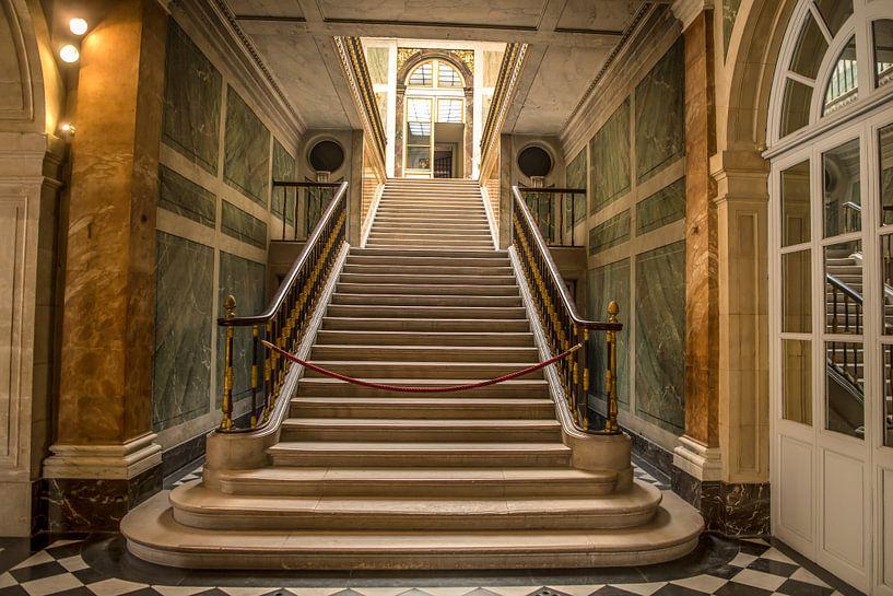 Trappen in het Paleis van Versailles van Bas Fransen
