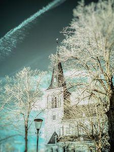 Sint Lambertus kerk Beers #2 van Lex Schulte