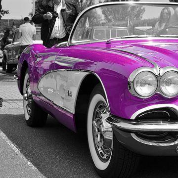 Corvette C1 Purple  van Titus Dingjan