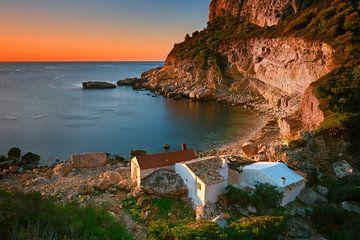 Cala Llebeig, Costa Blanca, Spanien von Peter Bolman