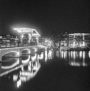 Amsterdam Skinny Bridge van Angel Flores