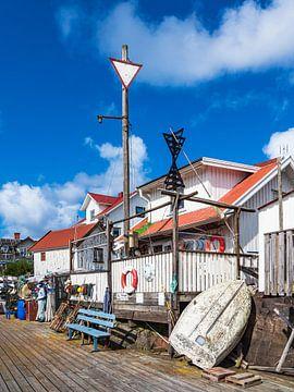 Hafen auf der Insel Åstol in Schweden von Rico Ködder