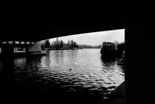 Under the bridge .... van