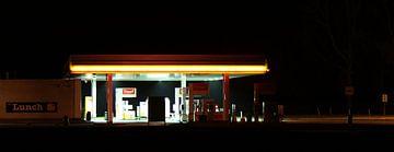 Nachtservice-Tankstelle von Roel de Vries