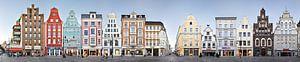 Rostock | Kröpeliner Straße Panorama von Panorama Streetline