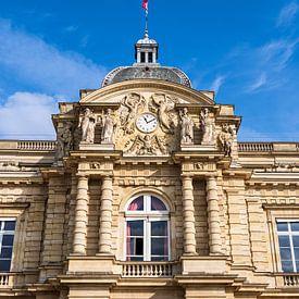 Vue du château dans les jardins du Luxembourg à Paris sur Rico Ködder