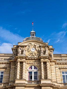 Blick auf das Schloss im Luxemburggarten in Paris von Rico Ködder