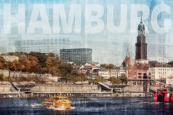 Hamburg van Claudia Moeckel