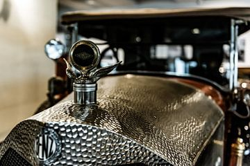 Benz radiator ornament met Thermoscop von autofotografie nederland
