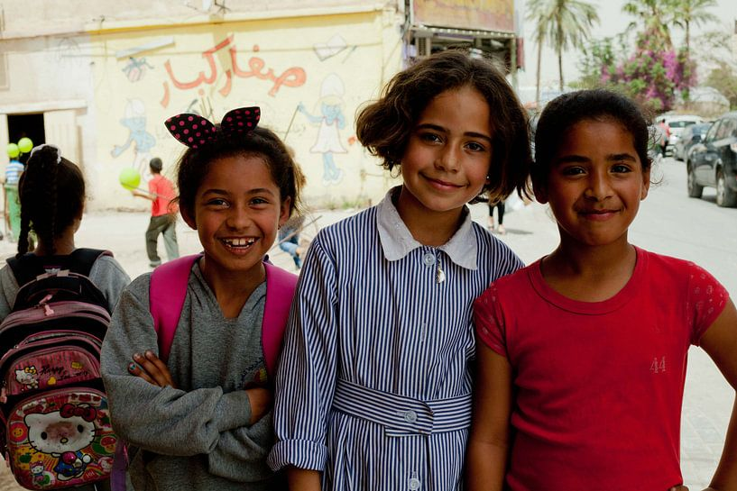 Palestijnse meisjes van Celine Dhont