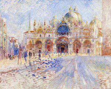 August Renoir. Piazza San Marco, Venetie