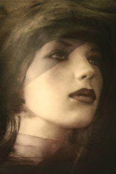 Nostalgisch  portret van Marijke de Leeuw - Gabriëlse