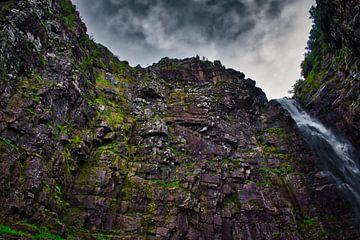 Wasserfall in Schweden von Mirjam Van Houten
